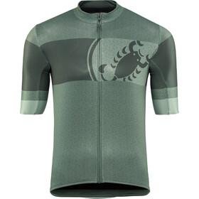 Castelli Ruota Koszulka rowerowa z zamkiem błyskawicznym Mężczyźni, sauge green
